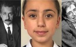 Cô bé 11 tuổi có chỉ số IQ cao hơn cả 2 thiên tài nổi tiếng Albert Einstein và Stephen Hawking