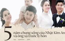 Đám cưới nhiều điều kỳ lạ, ly hôn sau 2 năm chung sống nhưng đến nay mới công khai của Nhật Kim Anh