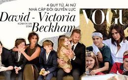 """Màn """"dậy thì"""" của dàn quý tử và ái nữ nhà David Beckham: Cậu cả gây thất vọng, em út Harper ngày càng đáng gờm"""