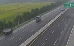Phạt 7,5 triệu đồng nữ lái xe điều khiển phương tiện ngược chiều trên cao tốc