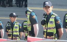 Nam cảnh sát Hàn gây chú ý khi làm nhiệm vụ tại lễ diễu hành đồng tính, ai ngờ lại chính là idol đình đám này