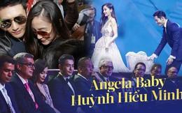 """Angela Baby - Huỳnh Hiểu Minh: Cặp đôi chăm """"làm màu"""" nhất Cbiz nhưng càng soi càng thấy sai sai?"""