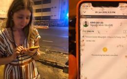 Nam sinh viên chạy GrabBike bị tố cướp giật điện thoại rồi xô ngã nữ hành khách người Nga xuống đường phố Sài Gòn