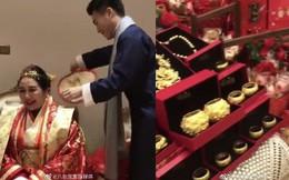 """Choáng toàn tập với sính lễ vàng ròng la liệt do """"rể xịn Harvard"""" tặng ái nữ trùm sòng bạc Macau"""