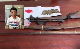 Vây bắt đầu nậu ma túy mang theo súng đã lên nòng ở Nghệ An