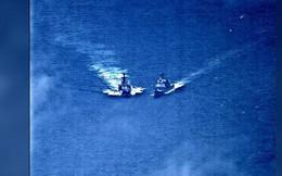 Nghẹt thở khoảnh khắc chiến hạm Nga, Mỹ suýt va chạm trên biển Hoa Đông