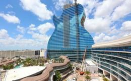 Ngắm nhìn khách sạn hình cây đàn guitar độc đáo sẽ khai trương vào mùa thu này tại Mỹ