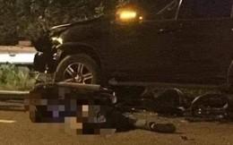 Chạy ngược chiều va ô tô, thanh niên đi xe máy tử vong ở Đại lộ Thăng Long