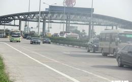 Trạm BOT Pháp Vân - Cầu Giẽ vẫn hoạt động trong ngày đầu bị yêu cầu dừng thu phí