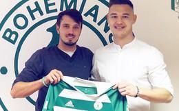 Thủ môn từng không xin được việc ở V-League sắp chơi bóng tại giải VĐQG Séc