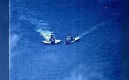 Đằng sau vụ va chạm giữa tàu chiến Nga-Mỹ trên biển Hoa Đông