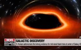 Các nhà khoa học Hàn Quốc phát hiện hố đen khối lượng trung bình
