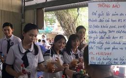 Tri ân học sinh khối 12, canteen trường cấp 3 Tiền Giang chiêu đãi trà chanh miễn phí 3 ngày khiến dân mạng ganh tỵ không hết