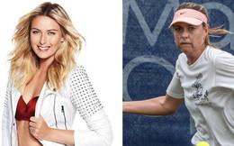 Không ai ngờ bước qua tuổi 32, nhan sắc của 'nữ hoàng quần vợt' Maria Sharapova lại xuống dốc đến mức như thế này