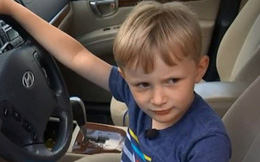 Cậu bé 4 tuổi lấy trộm ô tô của cụ nội, lái xe đi gần 2 km chỉ để... mua kẹo