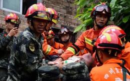 Hiện trường vụ động đất tại Trung Quốc khiến ít nhất 12 người chết