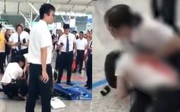 Chỉ vì muộn tàu, nữ hành khách rút dao đâm bị thương nhân viên nhà ga