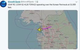 Máy bay gián điệp Mỹ trên trời Seoul trước chuyến thăm Triều Tiên của ông Tập