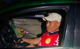 CSGT ở Bình Dương tóm gọn tên cướp dùng dao uy hiếp tài xế, cướp xe taxi