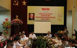 Ra mắt sách 'Tổng Bí thư, Chủ tịch nước Nguyễn Phú Trọng với tình cảm của nhân dân trong nước và bạn bè quốc tế'