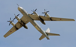Chiến đấu cơ Nhật Bản xuất kích chặn máy bay ném bom Nga