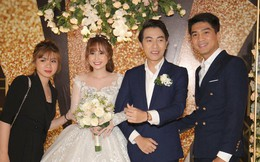 Cập nhật: Pewpew cùng bạn gái xuất hiện tại đám cưới Cris Phan - Mai Quỳnh Anh