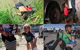 Những bức ảnh lay động lòng người cho thấy sự tàn nhẫn của thảm họa di cư, khi hàng rào thép gai nơi biên giới 'cứa nát' cuộc đời những đứa trẻ
