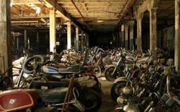 Cảnh hàng nghìn xe máy cổ bị lãng quên, vứt ngổn ngang ở Mỹ