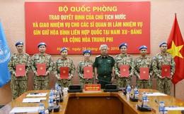 Thêm 7 sĩ quan Việt Nam đi gìn giữ hoà bình Liên hợp quốc
