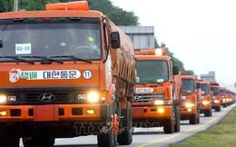 Hàn Quốc viện trợ 50.000 tấn gạo cho Triều Tiên