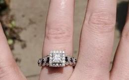 Cô gái hào hứng khoe được cầu hôn bằng nhẫn kim cương nhưng món đồ lấp lánh hơn 50 triệu lại bị lu mờ bởi chi tiết nhỏ xíu này
