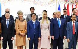 """Con gái Tổng thống Trump bị chỉ trích vì cố gắng """"thay thế"""" cha tại G-20"""