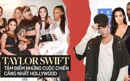 Ai ngờ Taylor Swift là tâm điểm của 3 cuộc chiến phe phái căng nhất Hollywood: Ăn miếng trả miếng, lôi cả dàn sao hot