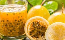 Vô vàn tác dụng của quả chanh leo, mùa hè đừng bỏ qua những ly nước tuyệt vời từ loại quả này