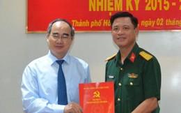 Bí thư Nguyễn Thiện Nhân trao quyết định nhân sự tại Bộ Tư lệnh TP HCM