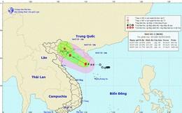 Bão số 2 cách đất liền các tỉnh Quảng Ninh, Hải Phòng khoảng 410km