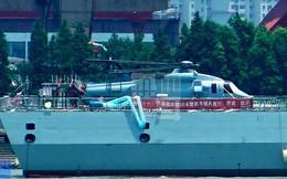 Trung Quốc thử nghiệm trực thăng Z-20 mới dùng cho tàu chiến