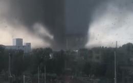Cận cảnh vòi rồng càn quét thành phố Trung Quốc, gần 200 người thương vong