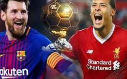 """Vượt mặt Messi, Van Dijk là ứng cử viên số 1 """"Quả bóng Vàng""""!"""