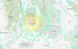 Động đất 6,6 độ gần bãi thử nghiệm vũ khí China Lake của Hải quân Mỹ