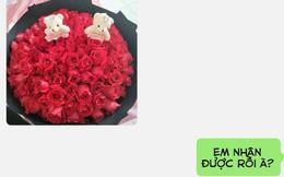 Mua bó hoa rõ đẹp tặng vợ để gây bất ngờ, anh chồng nào ngờ bị tra khảo một câu khóc dở mếu dở