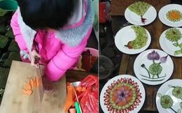 Đằng sau kỹ năng dùng dao điêu luyện gây sốt MXH là số phận thương cảm của cô bé 6 tuổi