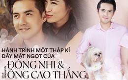 Hành trình 10 năm yêu chốt lại bằng đám cưới của Đông Nhi và Ông Cao Thắng: Cổ tích đời thực đích thị là đây!