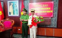 Phó giám đốc Công an Đà Nẵng được điều động về Bộ công an