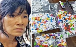 """Bắt """"nữ quái"""" tàng trữ hơn 1.200 tép heroin"""