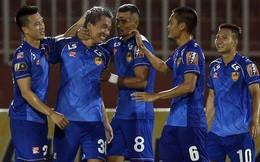'Siêu tiền đạo' ghi bàn, CLB Quảng Nam đẩy HAGL xuống vị trí nguy hiểm ở V.League 2019