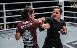 """""""Bông hồng gai"""" gốc Việt Bi Nguyễn thua tiếc nuối tại sàn đấu MMA Châu Á"""