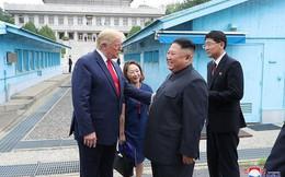 """Tổng thống Trump: """"Ông Kim Jong-un ít khi cười, nhưng ông ấy đã cười khi gặp tôi"""""""