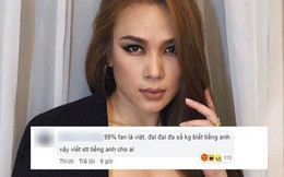 Bị soi viết status bằng tiếng Anh trong khi fan toàn người Việt, Mỹ Tâm đáp trả đầy khí chất