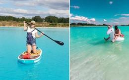 Chiếc hồ trong xanh thơ mộng đang thu hút vô số người chụp ảnh sống ảo, hóa ra là nơi rất nguy hiểm mà không ai hay biết